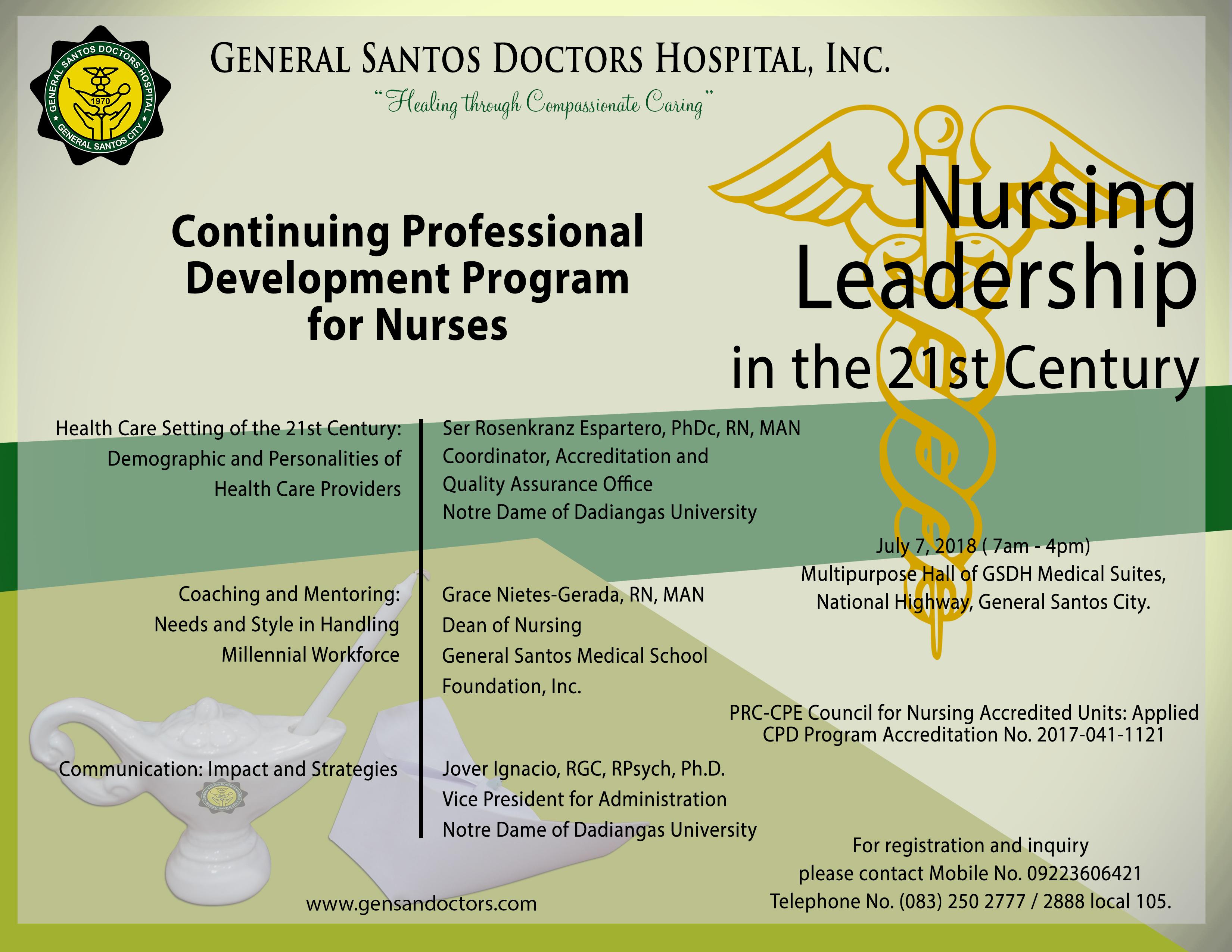 CPN 070718 – General Santos Doctors Hospital, Inc